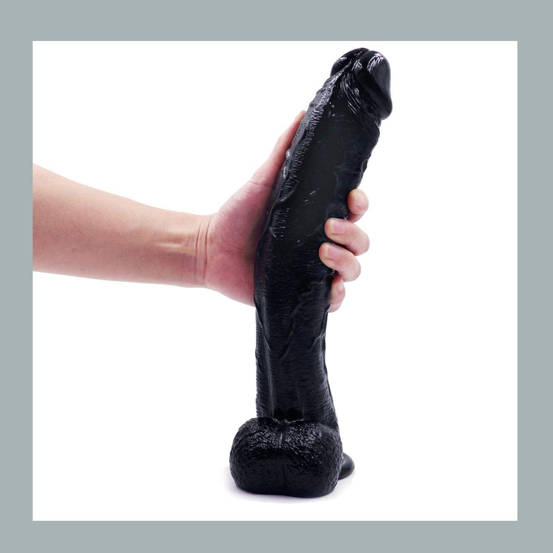 12in Black Realistic Dillo, Bendable Adullt Toy Fun Free Manual for Student- Can Stand The Test of Time -XQG
