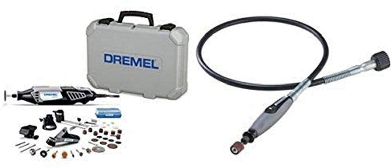 Dremel 4000-4/34 Rotary Tool Kit with Flex Shaft Attachment