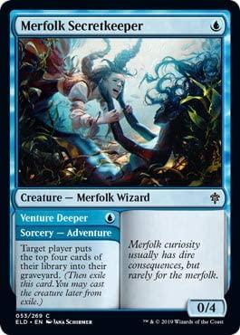 Magic: The Gathering - Merfolk Secretkeeper - Throne of Eldraine