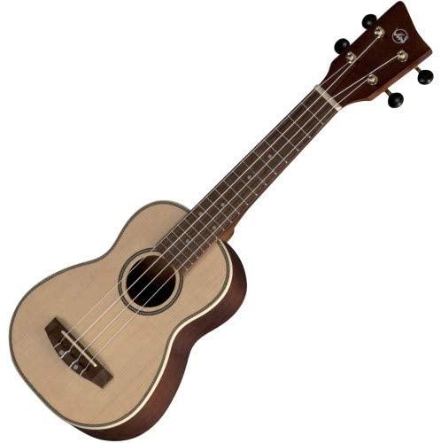 GEWA Sopran ukulele Manoa M-SO Sapelli silk Matt finish with Gig Bag
