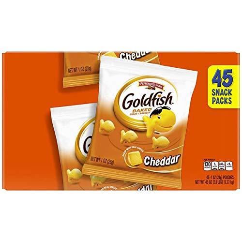 Evaxo Goldfish Cheddar Cracker, 45 x 1 oz.#B