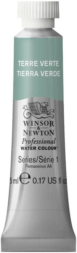 Winsor & Newton Professional Water Colour Paint, 5ml tube, Terre Verte