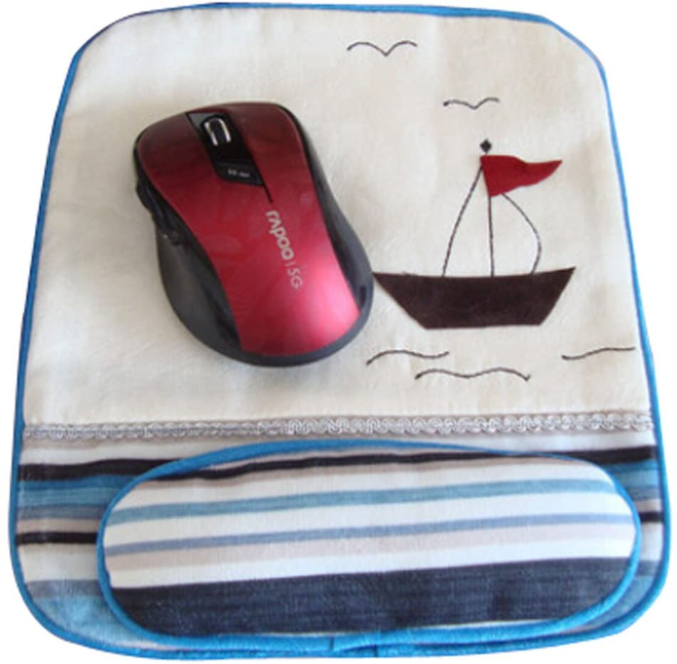 Cloth Mouse Pad Cotton Wristbands Mouse Pad Creative Antiskid Wrist Rests A