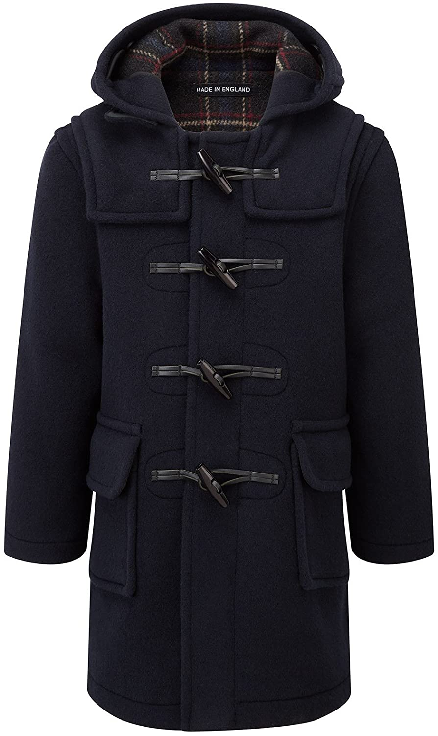 Kids Classic Duffle Coat (Toggle Coat) in Navy