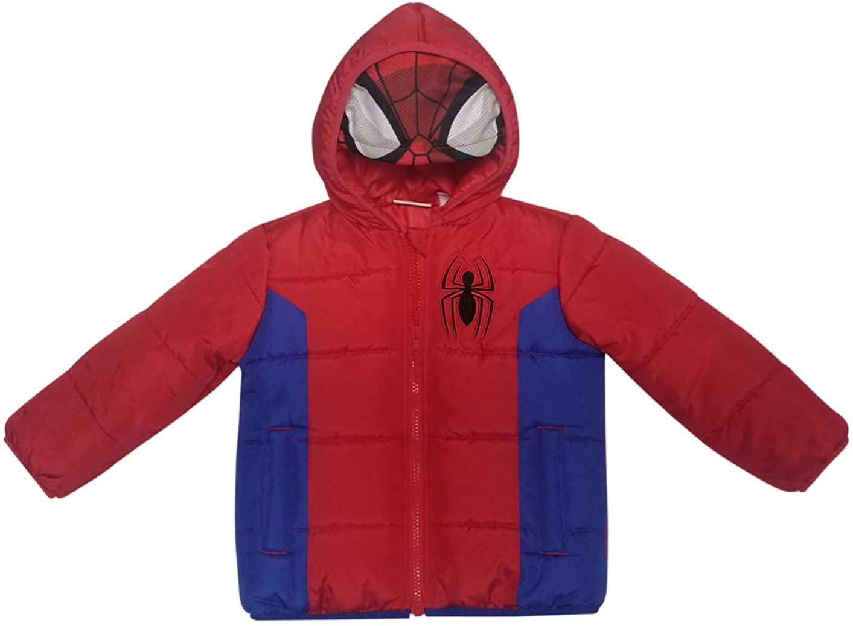 Dreamwave Spiderman Toddler Boy Puffer Jacket