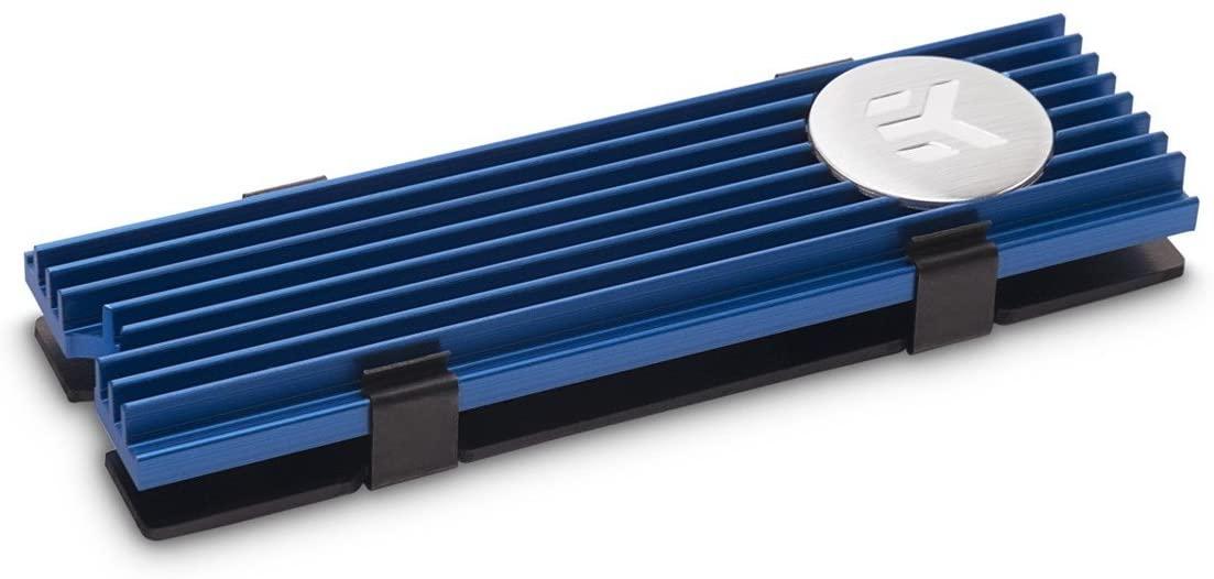EKWB EK-M.2 NVMe Heatsink, Blue