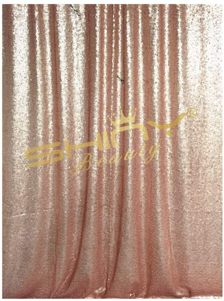 Sequin Backdrop Curtain Blush 3FTx5FT Sequin Curtains for Windows Shimmer Curtain Panels Photography Backdrop Baby Shower Curtain Glitter Curtains Backdrop Curtains for Parties Wedding Backdrop