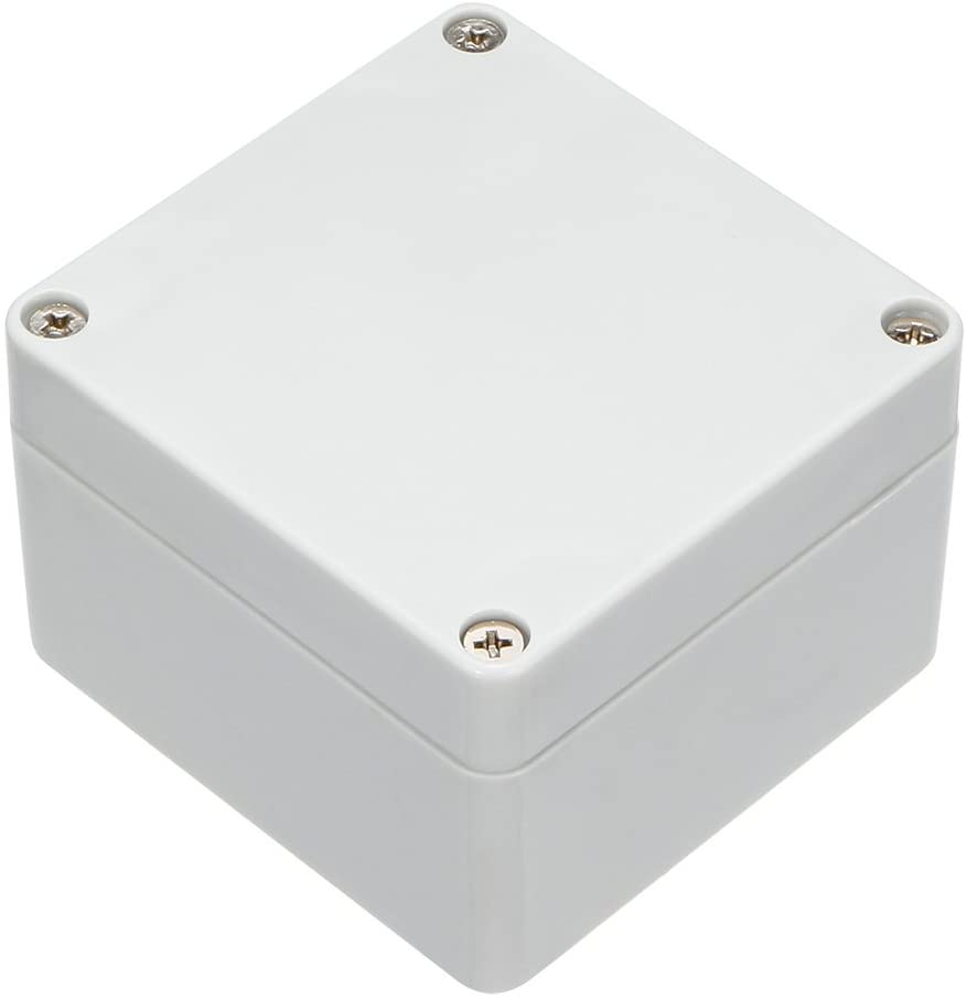 uxcell ABS Junction Box Universal Project Enclosure 3.27