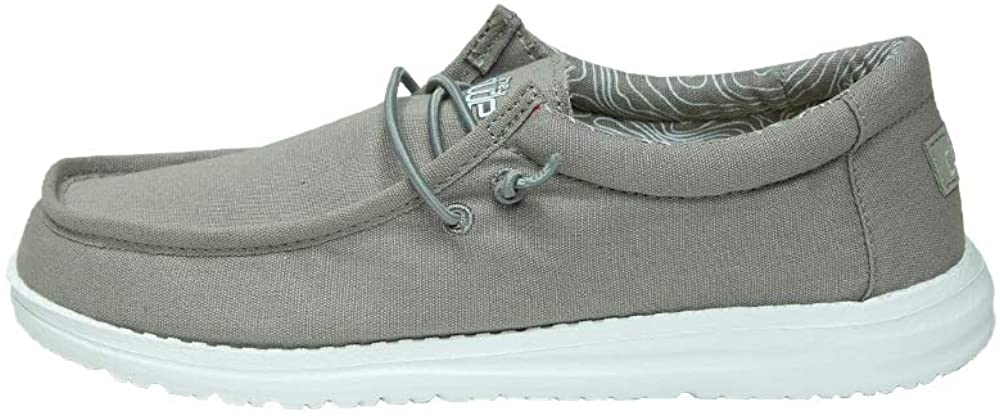 Hey Dude Wally Youth Shoes (1, Grey)