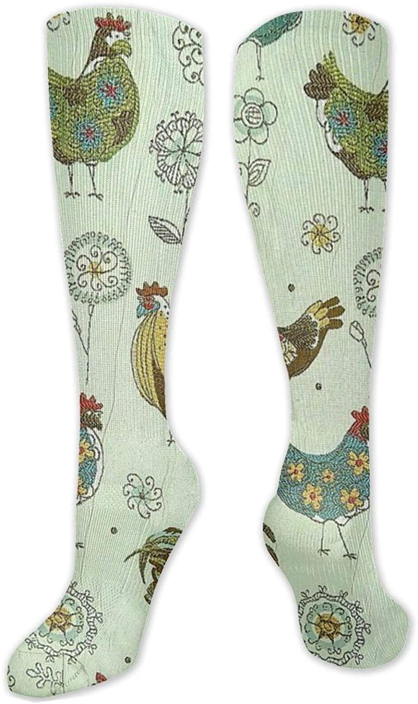 Men Women Kids Long Socks Colorful Patterned Crew Socks Sport Socks