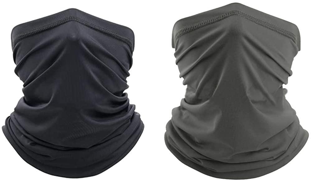 Face Cover Scarf Neck Gaiter Headwear Sun UV Protection Elastic Headwear