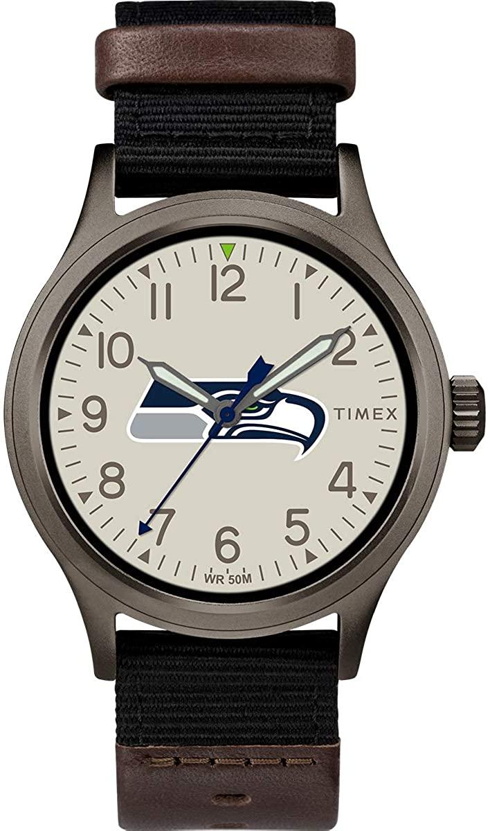 Timex NFL Men's 40mm Clutch Watch