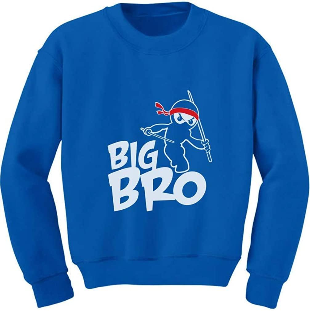 TeeStars - Big Brother Gift Idea for Elder Sibling - Ninja Boy Kids Sweatshirt
