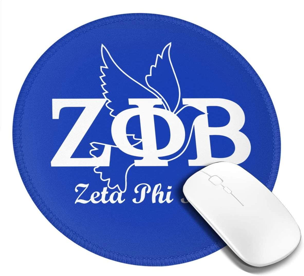 Zeta Phi Beta Mouse Pad Non-Slip Rubber Base Mousepad for Laptop