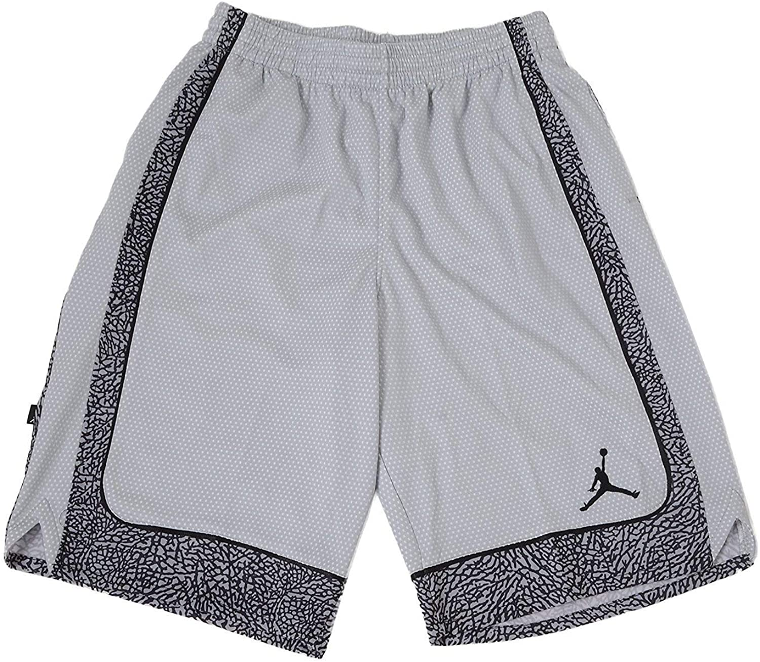 Jordan Nike Boys' Elephants Print Dri-Fit Basketball Shorts