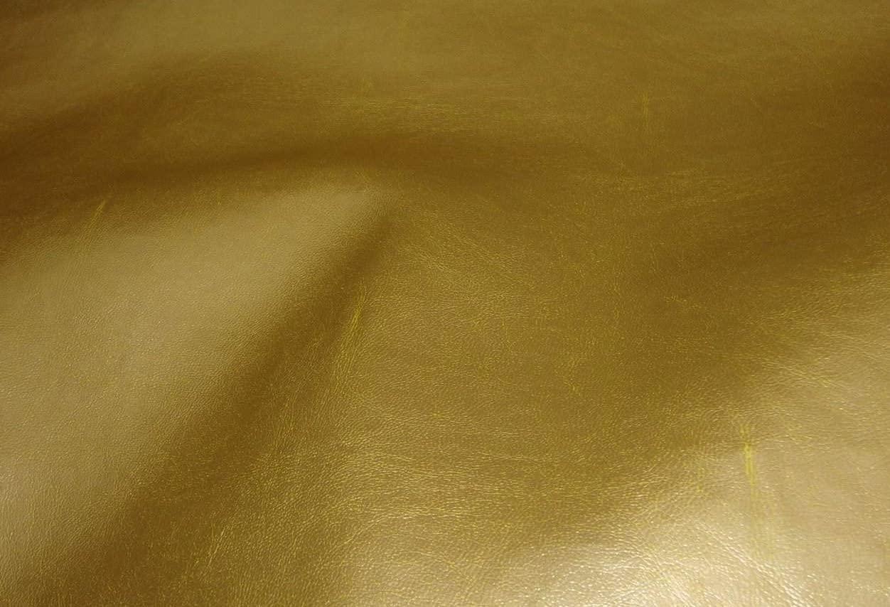 Marine Vinyl Metallic Gold Indoor Outdoor Vinyl Fabric Per Yard