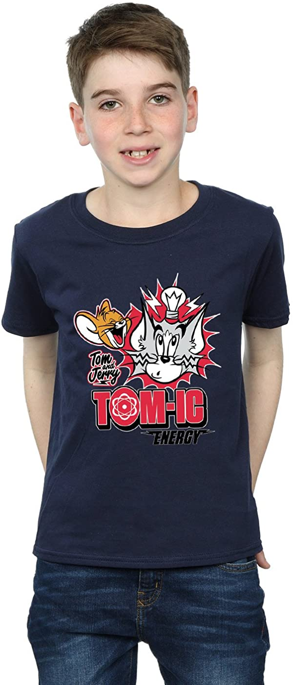 TOM and JERRY Boys Tomic Energy T-Shirt