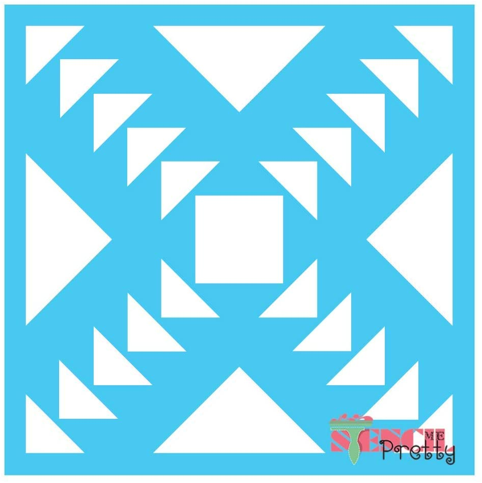 Stencil - Awa Andes Tribal Tile-XS (6