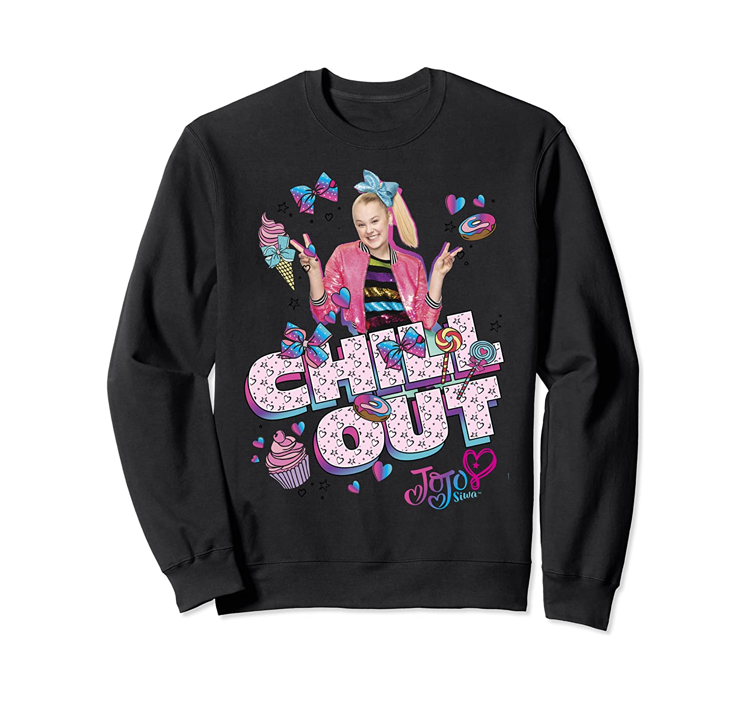 Nickelodeon JoJo Siwa Chill Out Dessert Snacks Sweatshirt
