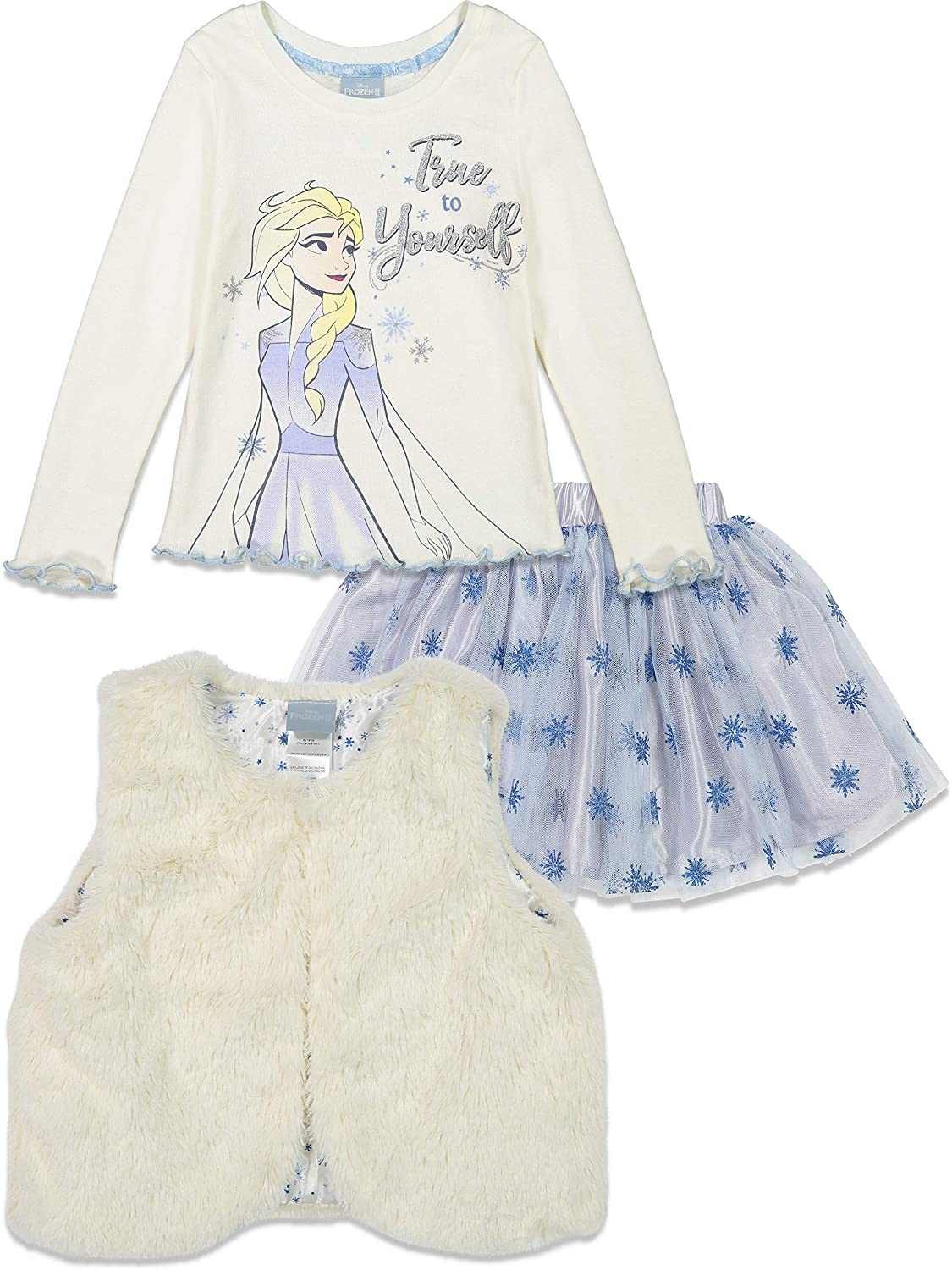 Disney Girls T-Shirt and Skirt Set