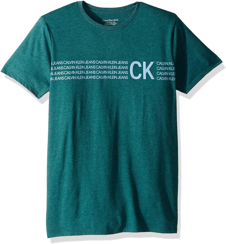 Calvin Klein Boys' Crew Neck tee
