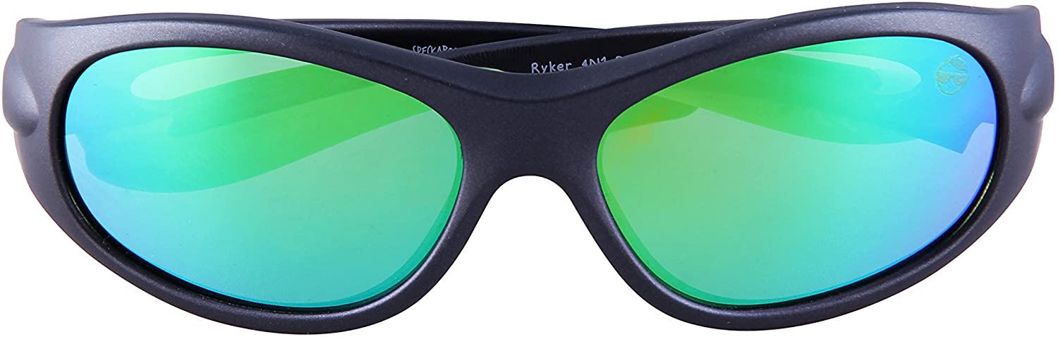 Speckaboo Active Sunglasses for Kids Ages 5-10 Years