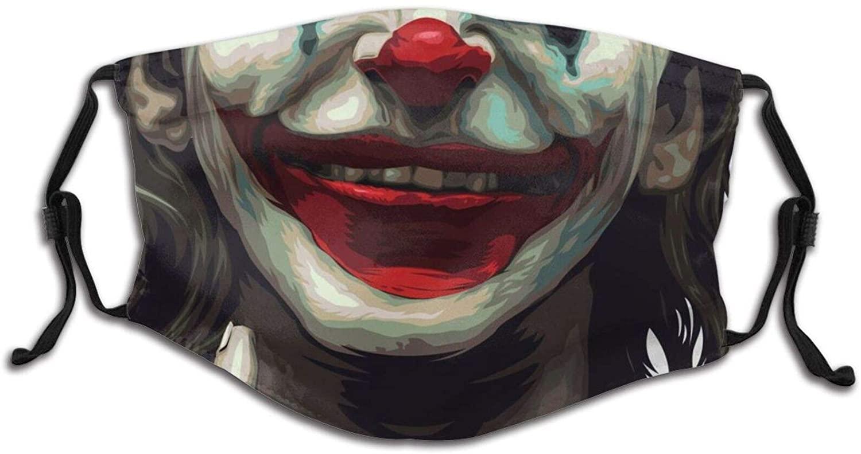 Halloween Joker Face Mask Windproof Anti Reusable Comfortable Breathable Balaclava