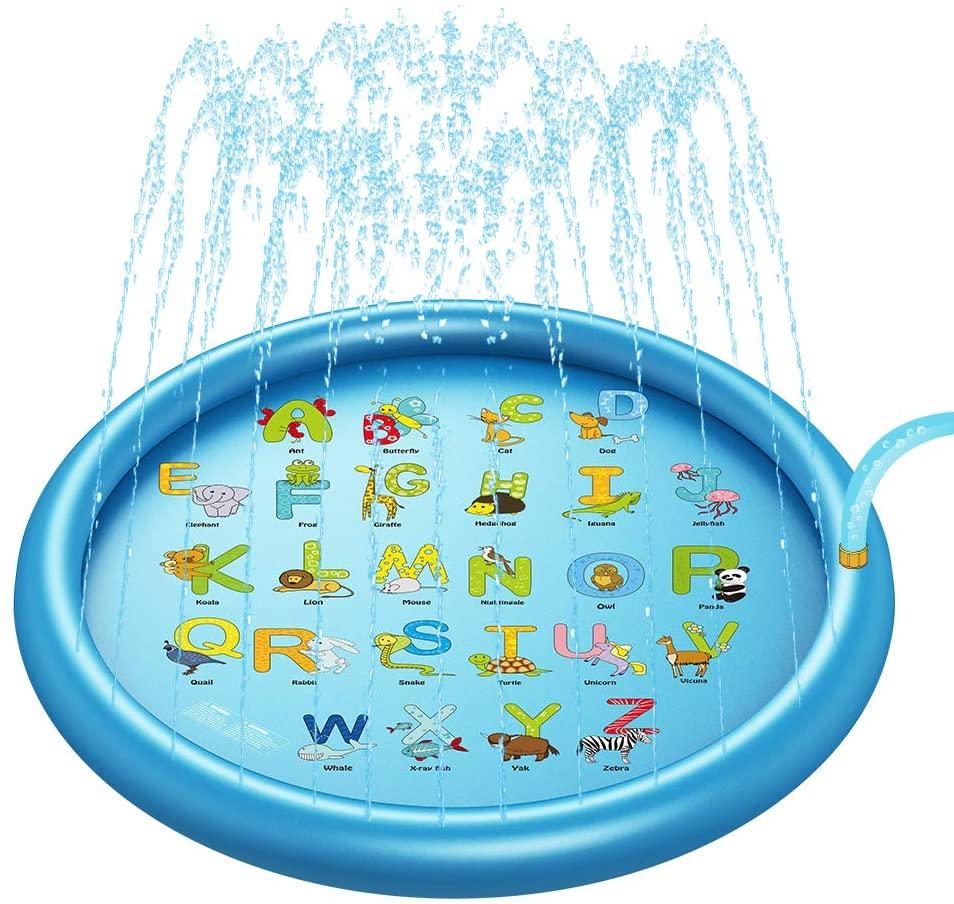 Sprinkler & Splash Play Mat for Kids, 67