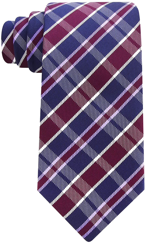 Plaid Ties for Men - Woven Necktie - Mens Ties Neck Tie by Scott Allan