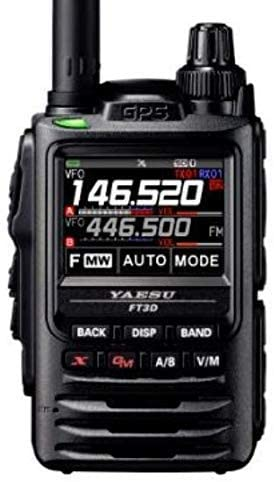 Yaesu FT-3DR C4FM/FM 144/430MHz Dual Band 5W Digital Transceiver with Touch Screen Display