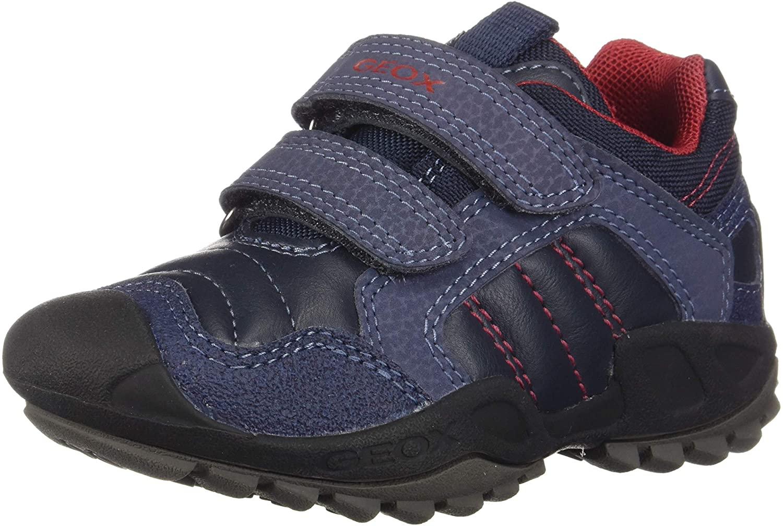 Geox Boys' J New Savage Low-Top Sneakers