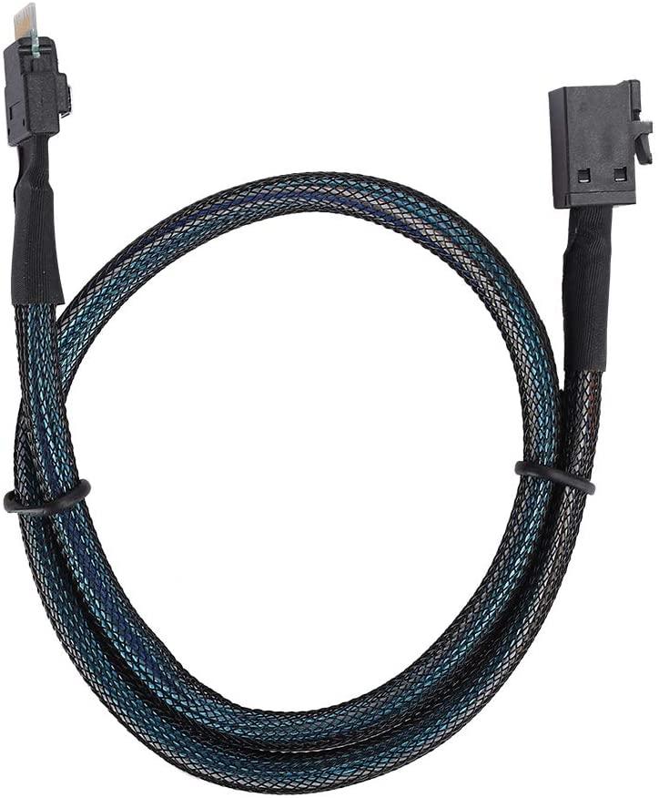 Copper Mini SAS Cable Connecting Cable Slim SAS Mini SAS38P to Mini SAS HD SFF‑8643 Server Computer Transmission Line High‑Density Mini SAS Line