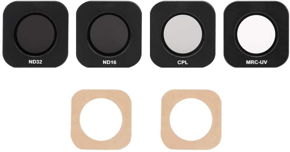 Junestar MCUV CPL ND16 ND32 4 IN 1 Lens Set Filter CPL ND Filter for FEIYU POCKET Camera Professional Photography Filter Kit