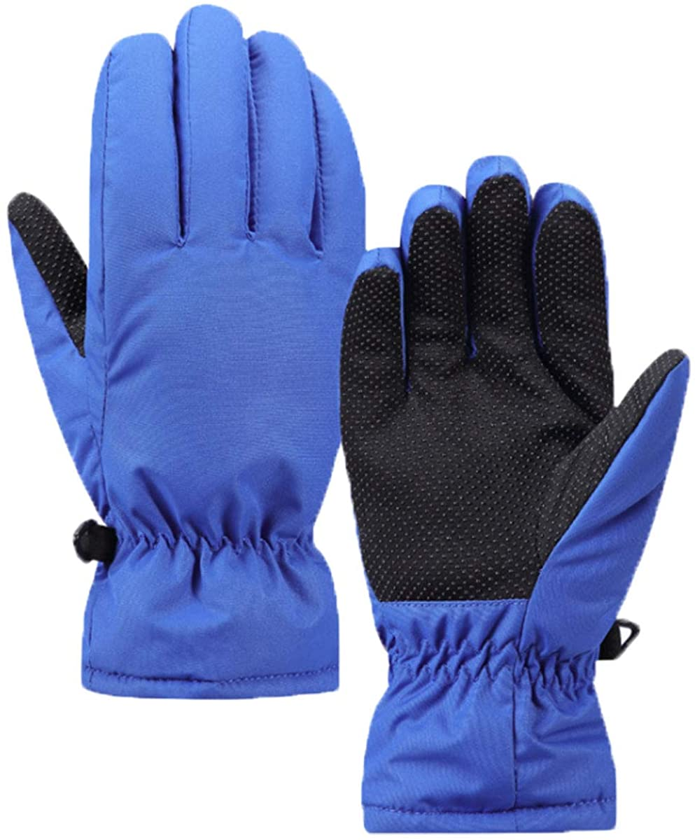 Kids Ski Gloves Mittens Toddlers Snow Gloves Boys Girls Waterproof Skiing Snowboarding Gloves Child Cold Weather Gloves Sports Thermal Skiing Mittens Children Mittens Running Gloves Xmas Gifts