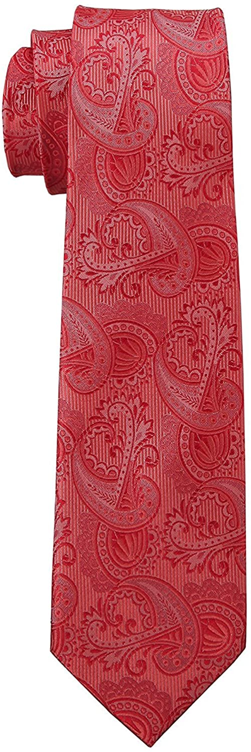 Premium 100% Silk Tie Black, Navy, Pink Signature Wrapping Gift Box (Various Colors)