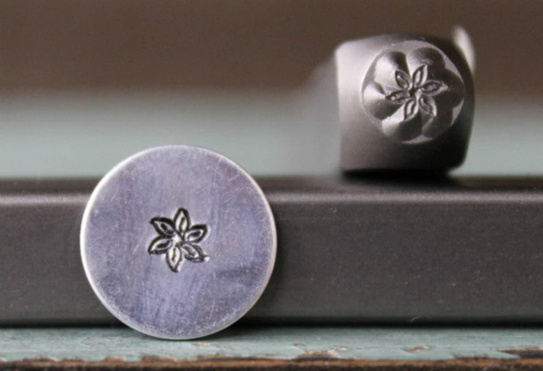 Brand New 4.5mm Flower Metal Punch Design Stamp - Supply Guy - CH-194