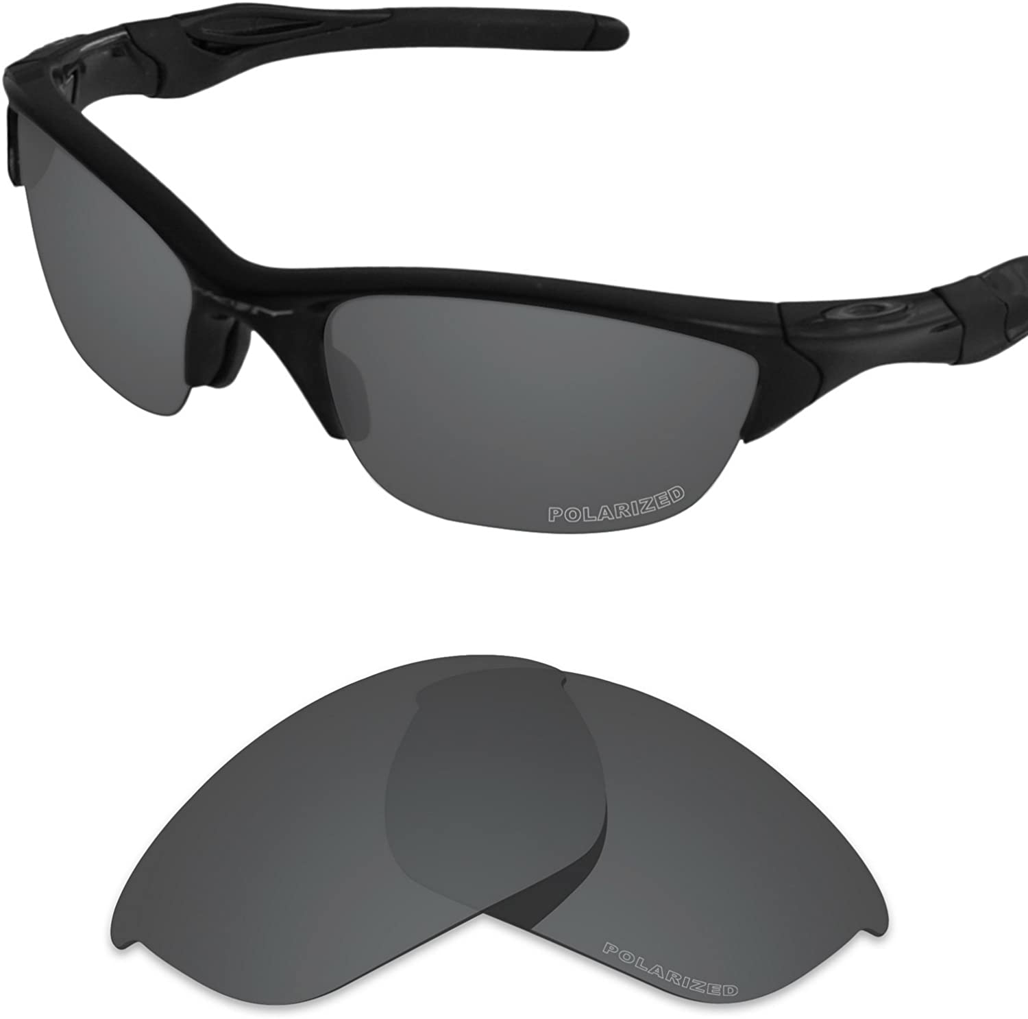 Tintart Performance Lenses Compatible with Oakley Half Jacket 2.0 Polarized Etched