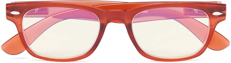 CessBlu Blue Light Filter Computer Glasses Design Blocking UV Readers for Women Reading Screen