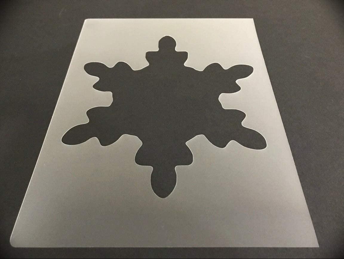 Snow Flake #18 Reusable Sturdy Stencil Christmas, Santa, Snow Flake, Holiday 8