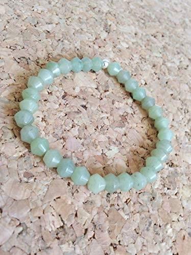 AAA++ Rare Quality Aquamarine Bracelet/Gemstone Bracelet/Crystal Bracelet/Aquamarine Jewelry 5mm 6.5