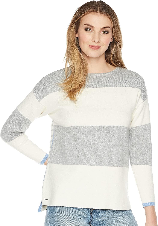 Joules Uma Milano Knit Sweater Grey 2