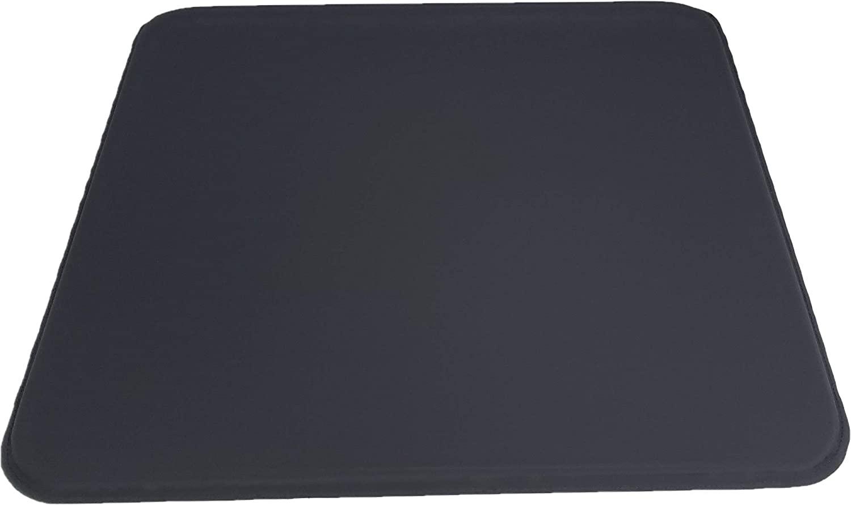 ULTRAGEL Anywhere, Anytime Personal Comfort Gel Pad-SG (Soft Gel) (16.5x18.5, Black/Non-Slip)
