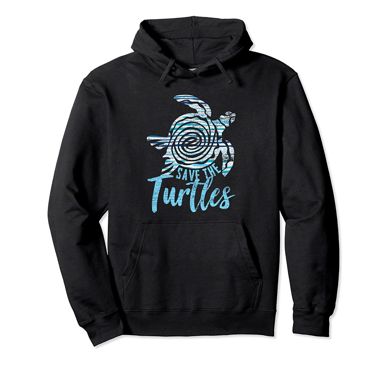 Save The Turtles Turtle Pullover Hoodie
