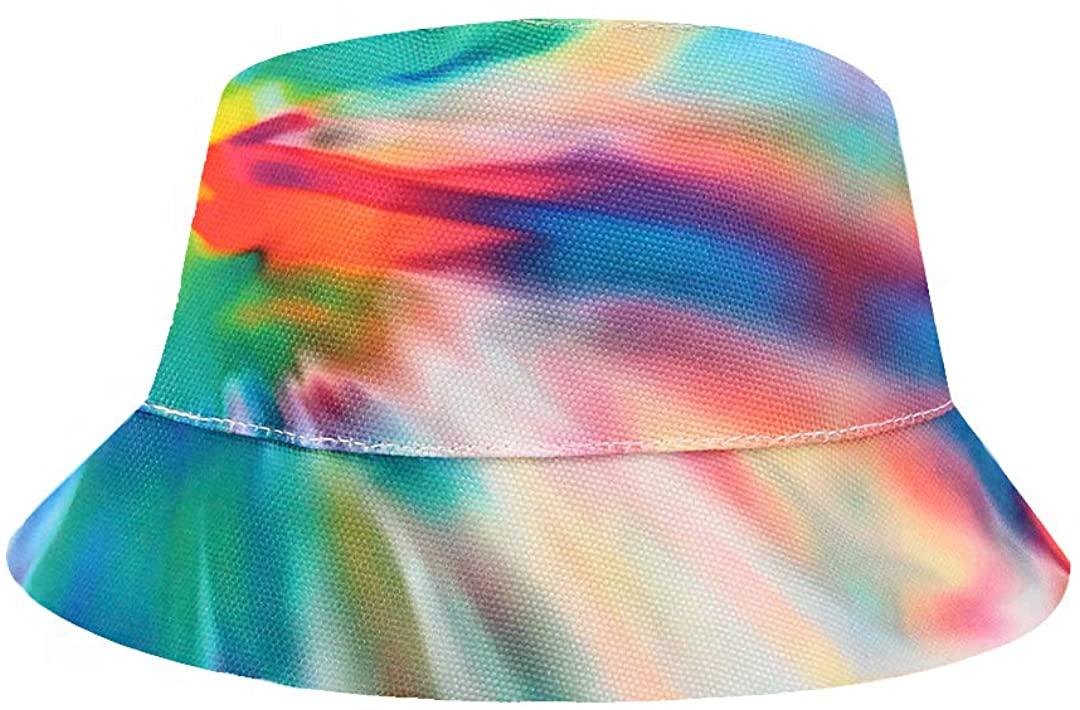 Surkat Multicolored Bucket Hat Summer Fisherman Cap Packable Sun Hat Boonie Cap