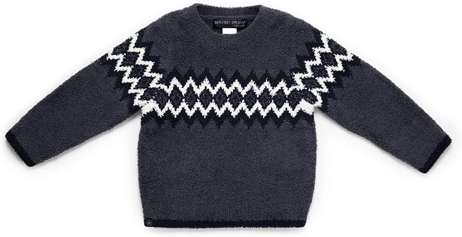 Barefoot Dreams CozyChic Toddler Boy's Nordic Pullover