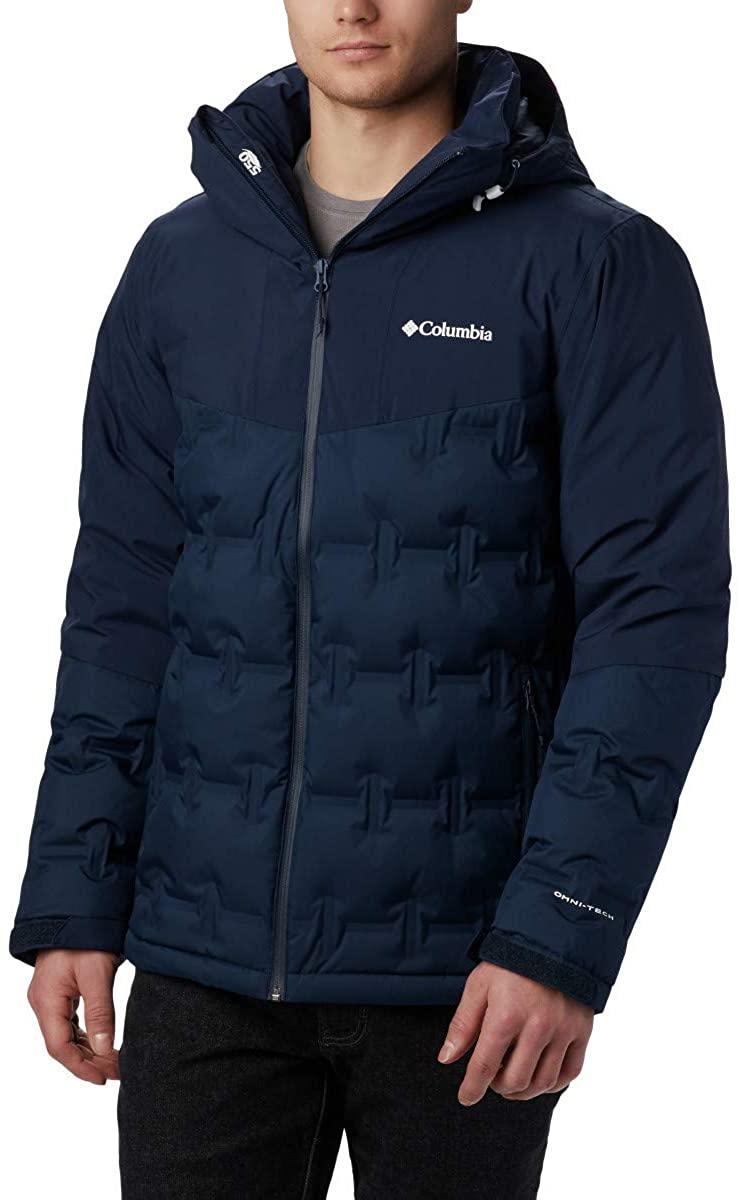 Columbia Men's Wild Card Down Jacket, Waterproof & Breathable