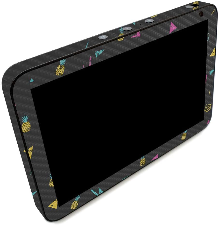 MightySkins Carbon Fiber Skin for DHgate Echo Show 8 - Magic Pineapple | Protective, Durable Textured Carbon Fiber Finish | Easy to Apply, Remove, and Change Styles | Made in The USA