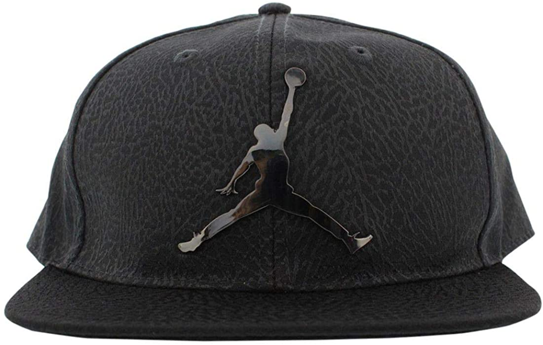 Jordan Boys Elephant Snapback Hat One Size Anthracite black