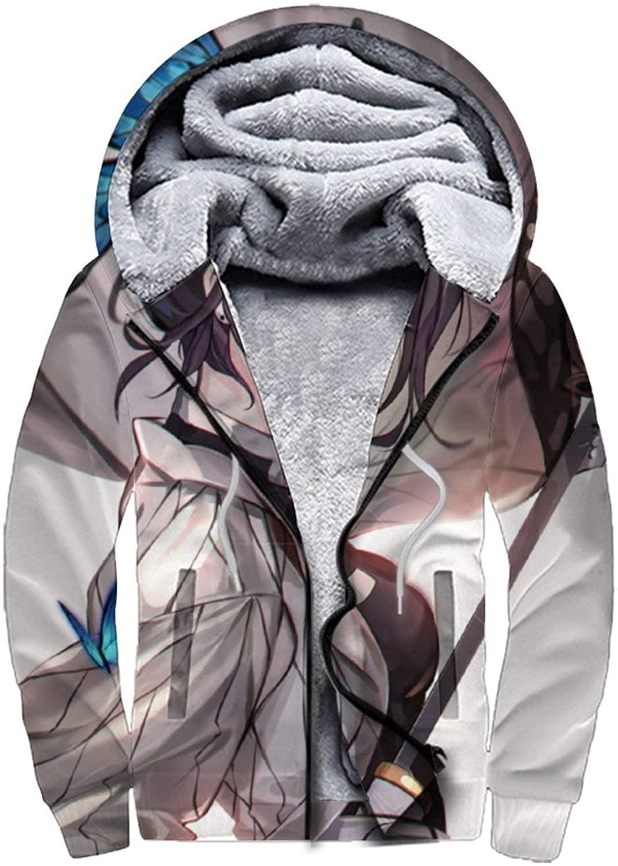 YPTBST Boys Kids Adult Soft Sherpa Lined Fleece Pullover Sweatshirt Zip Up Hoodie Sweater Jacket Coats
