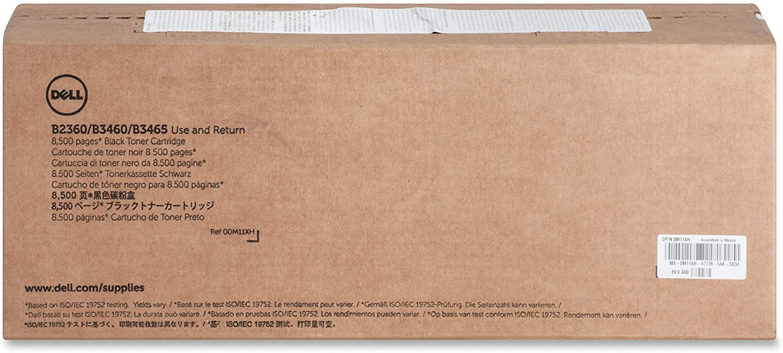 Dell M11XH Toner Cartridge Black 1 in Retail Packaging